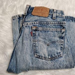 Authentic vintage Levis acid wash jeans 30 x 30
